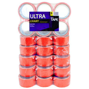 "Livart Ultra Multi Tape, 2"" x 10 Yard 6Rolls(1Pack)_VPT-210210 (36rolls_1BOX), Free shipping (Excluding HI, AK)"