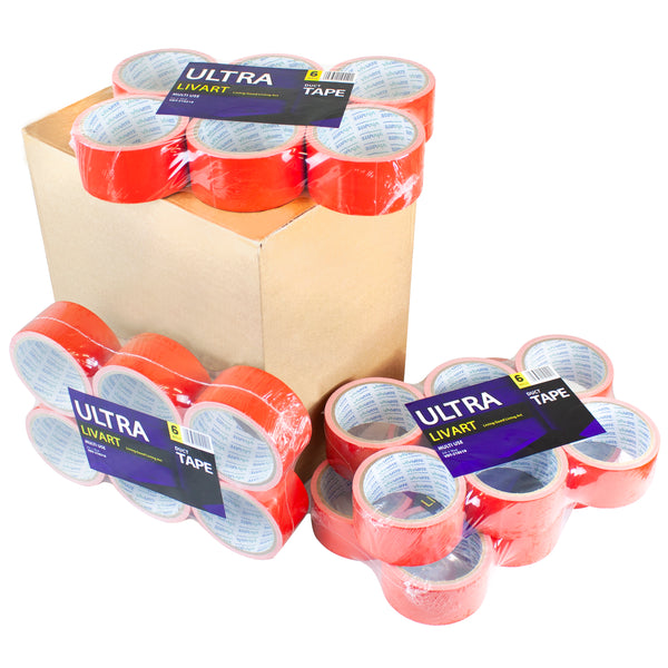 "Livart Ultra Multi Tape, 2"" x 10 Yard 6Rolls(1Pack)_VPT-210210 (24rolls), Free shipping (Excluding HI, AK)"