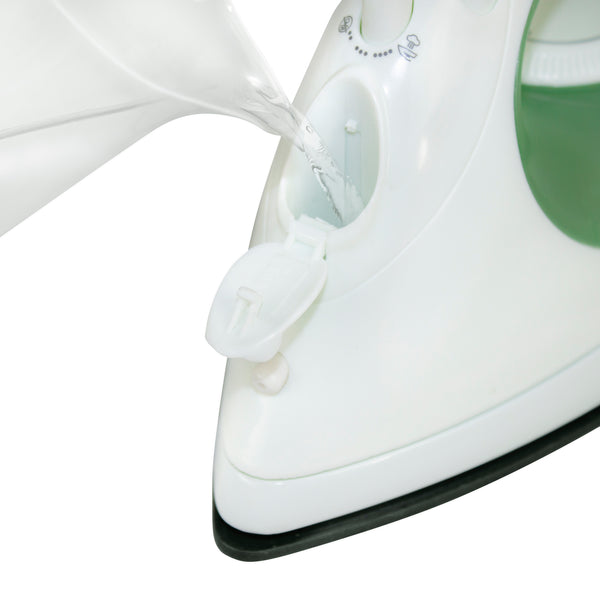 Livart LI-01 Steam Iron Economy, Green, Free shipping (Excluding HI, AK)