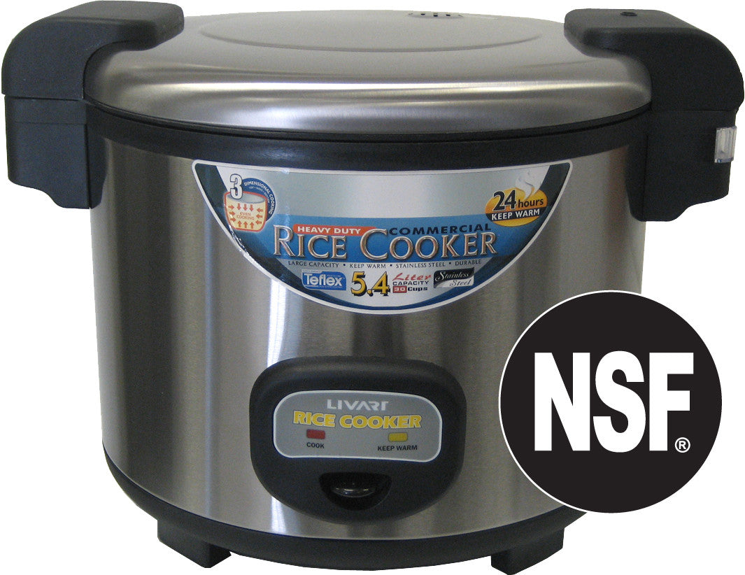 Livart Commercial 35 Cup Rice Cooker, Free shipping (Excluding HI, AK)
