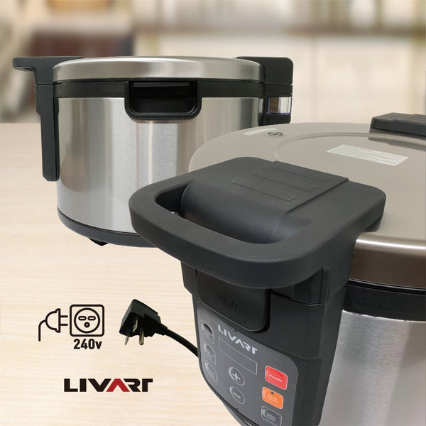 Livart Commercial 45 Cup Rice Cooker