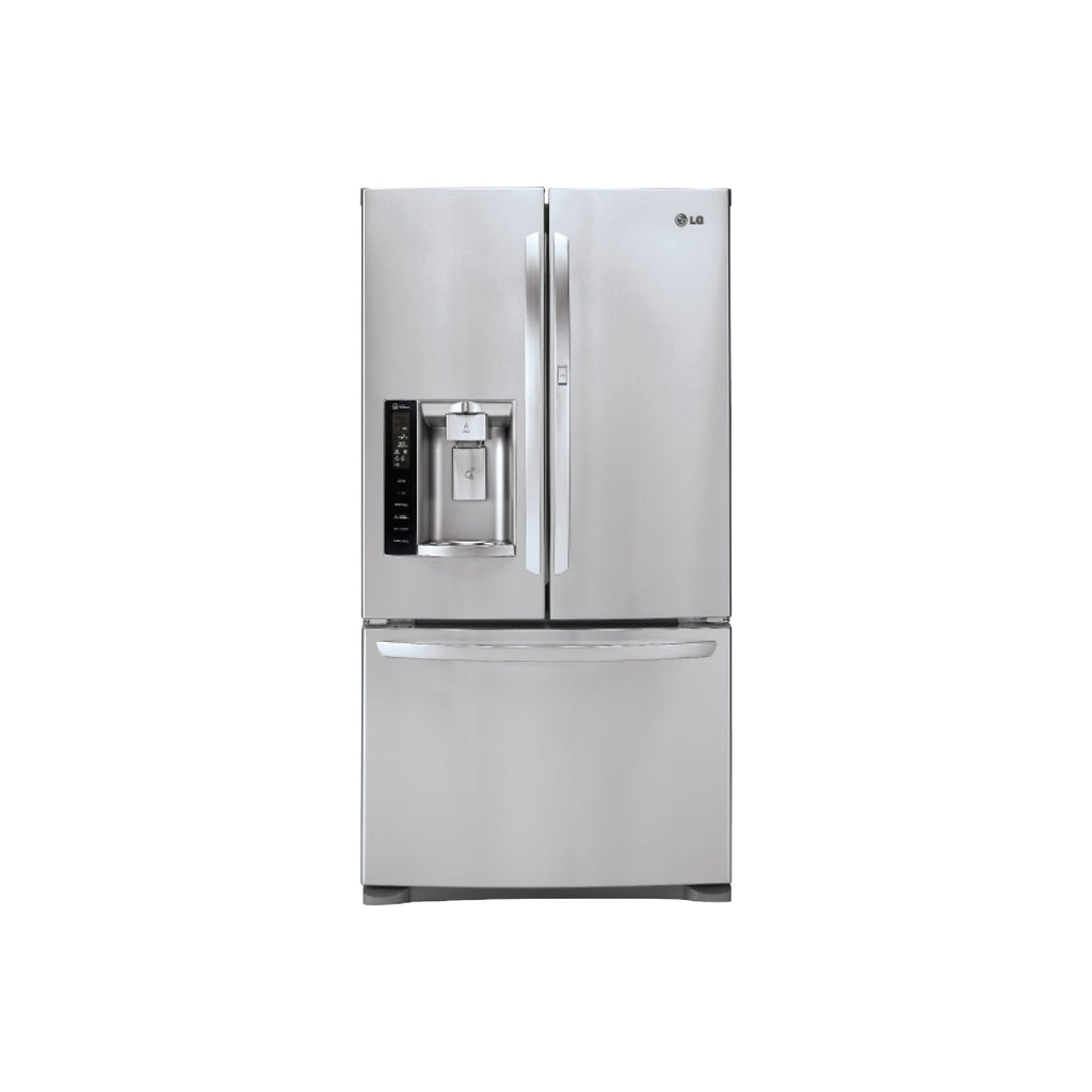 Lg 27cu Ft Ultra Capacity 3 Door French Door Refrigerator