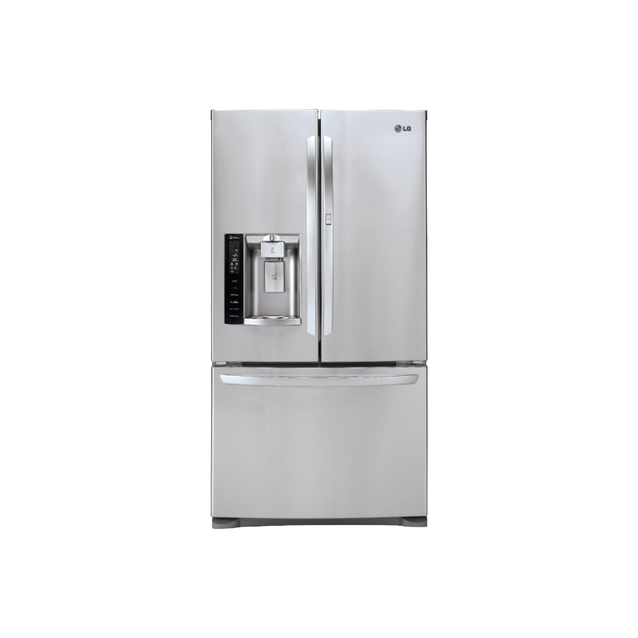 LG 27cu.ft. Ultra-Capacity 3 Door French Door Refrigerator w/ Door-in-Door, Shipping (To be added shipping separately)
