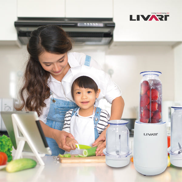Livart LG-800 Mini Mixer High-Speed Blender
