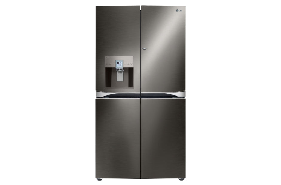 LG Black Stainless Steel 30 cu.ft. 4-Door French Door Refrigerator w/ 3-Tier Filtration® System + Shipping (To be added shipping separately)