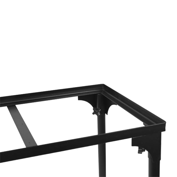 "Vulcanus 2-21T Double cast Iron Table Burner, V-BS02 Three and Two Burner Stand. 28.5 x 15.5 x 28.5"",  Free shipping (Excluding HI, AK)"