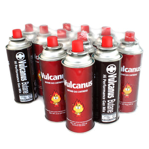 Livart GAS-1 Vulcanus Butane Gas (12-Pack), Free shipping (Excluding HI, AK)