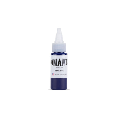 Blue Tattoo Ink - 1 oz. Bottle