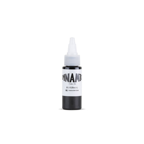 Black Tattoo Ink - 1 oz. Bottle