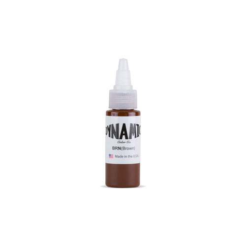 Brown Tattoo Ink - 1 oz. Bottle