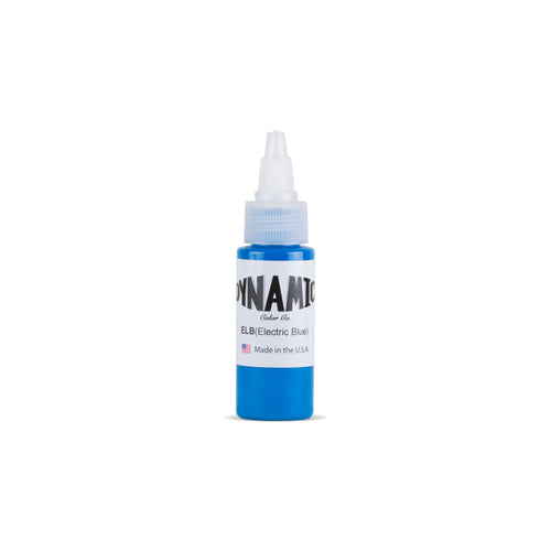 Electric Blue Tattoo Ink - 1 oz. Bottle