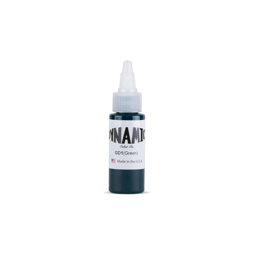 Green Tattoo Ink - 1 oz. Bottle