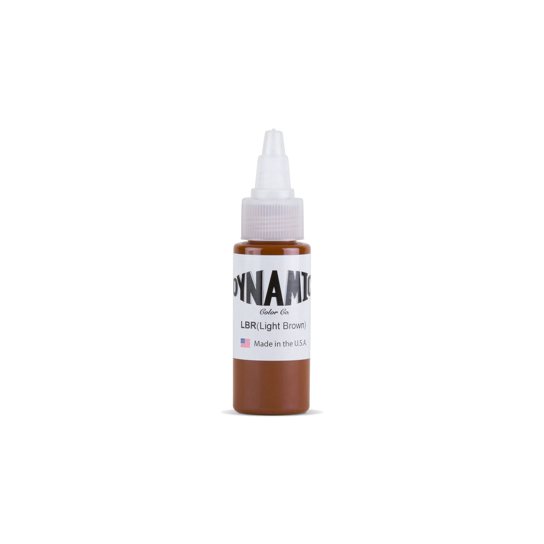 Light Brown Tattoo Ink - 1 oz. Bottle