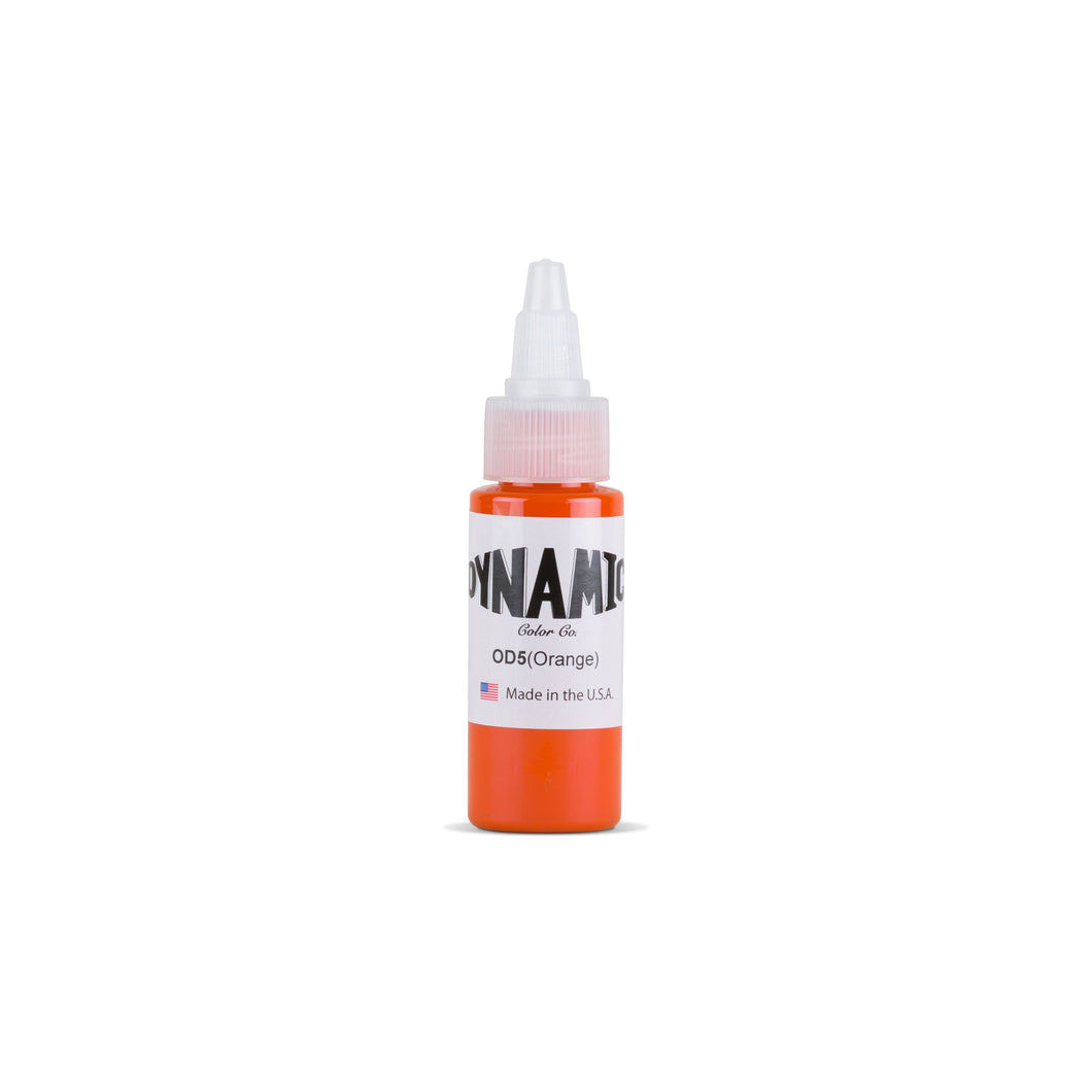 Orange Tattoo Ink - 1 oz. Bottle