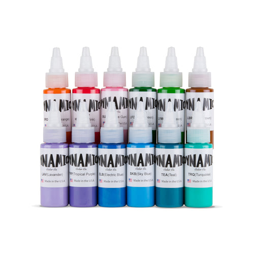 Circa 2003 Tattoo Ink Color Set - 1 oz. Bottles