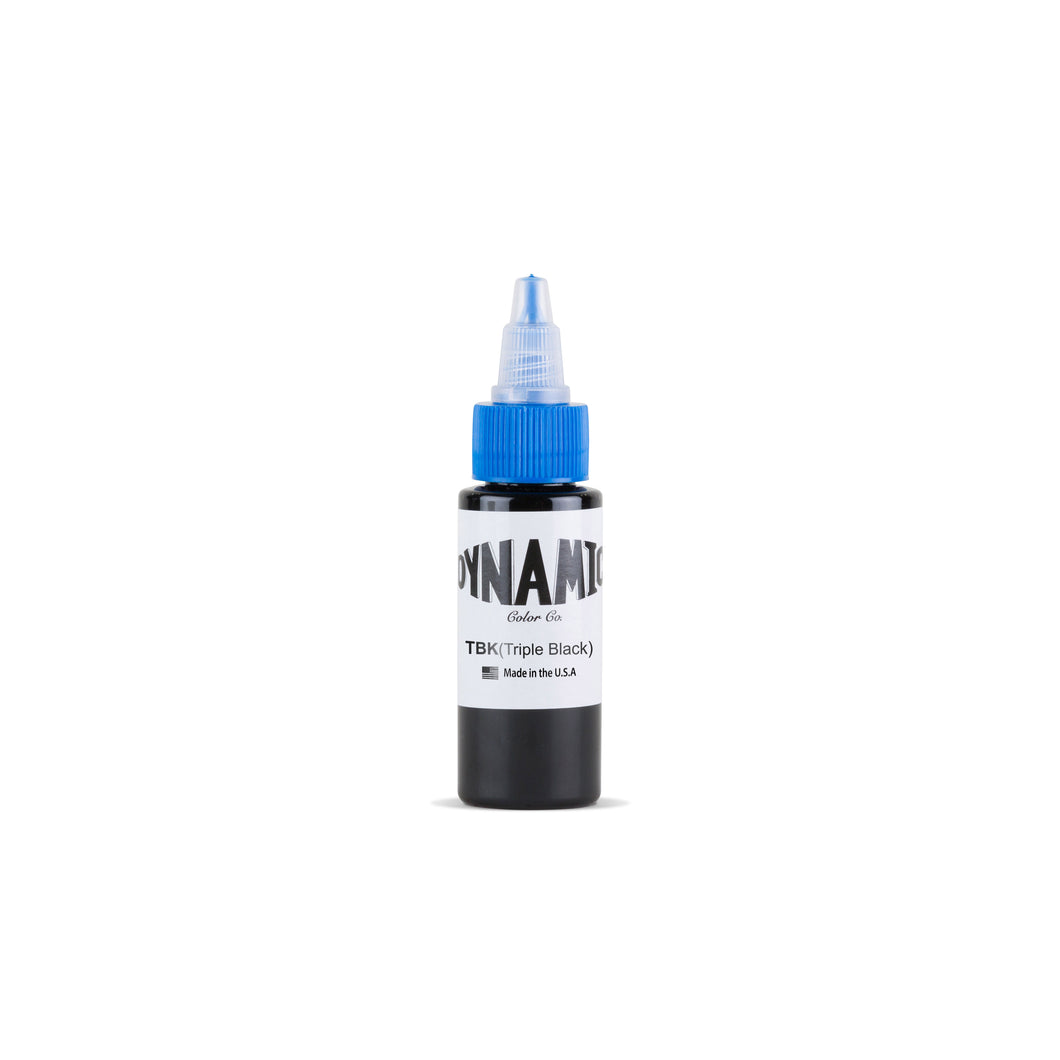 Triple Black Tattoo Ink - 1 oz. Bottle