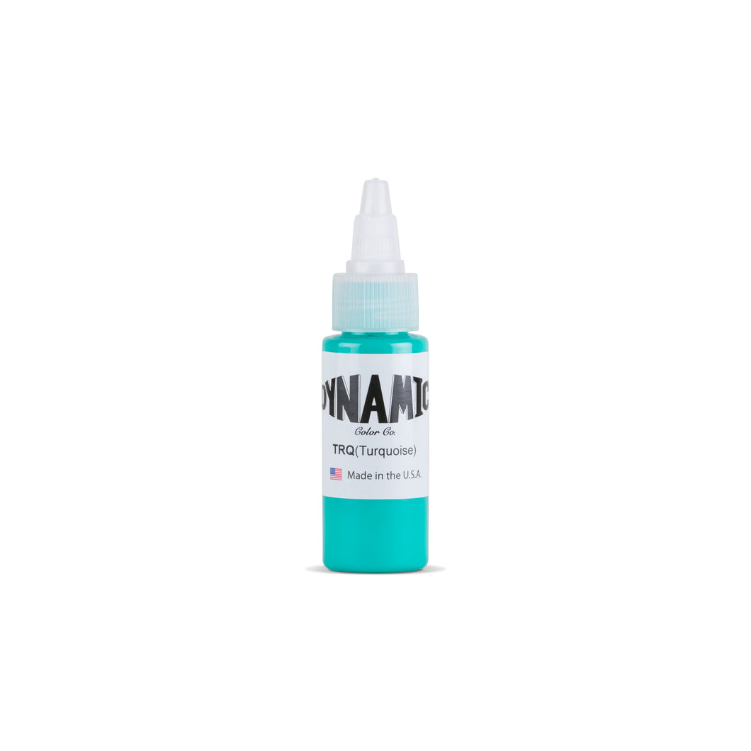 Turquoise Tattoo Ink - 1 oz. Bottle