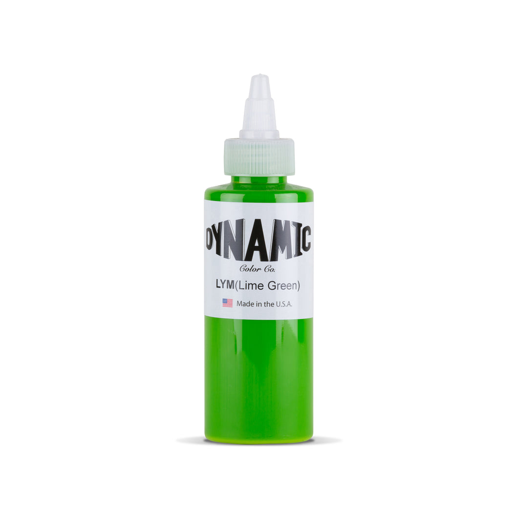 Lyme Green Tattoo Ink - 4 oz. Bottle