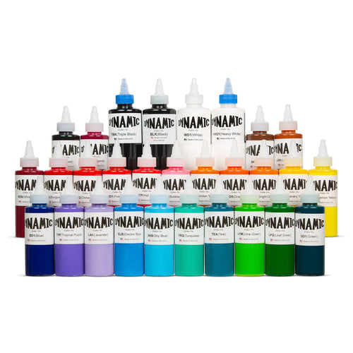 Master Collection Tattoo Ink Color Set - 4 oz and 8oz Bottles