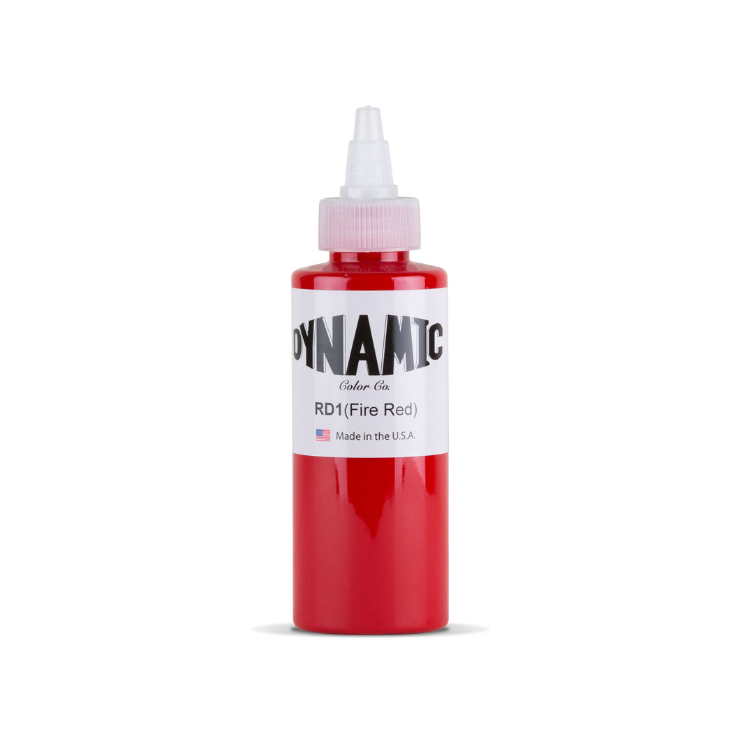 Fire Red Tattoo Ink - 4 oz. Bottle