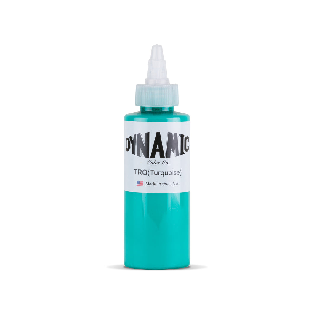 Turquoise 4 oz. Bottle