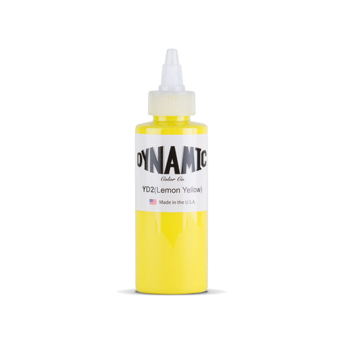 Lemon Yellow 4 oz. Bottle