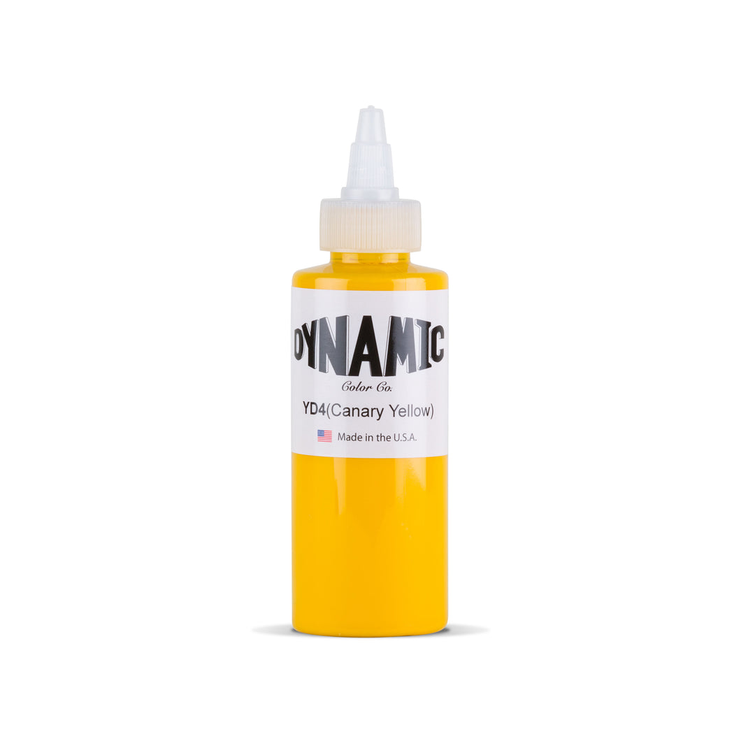 Canary Yellow Tattoo Ink - 4 oz. Bottle