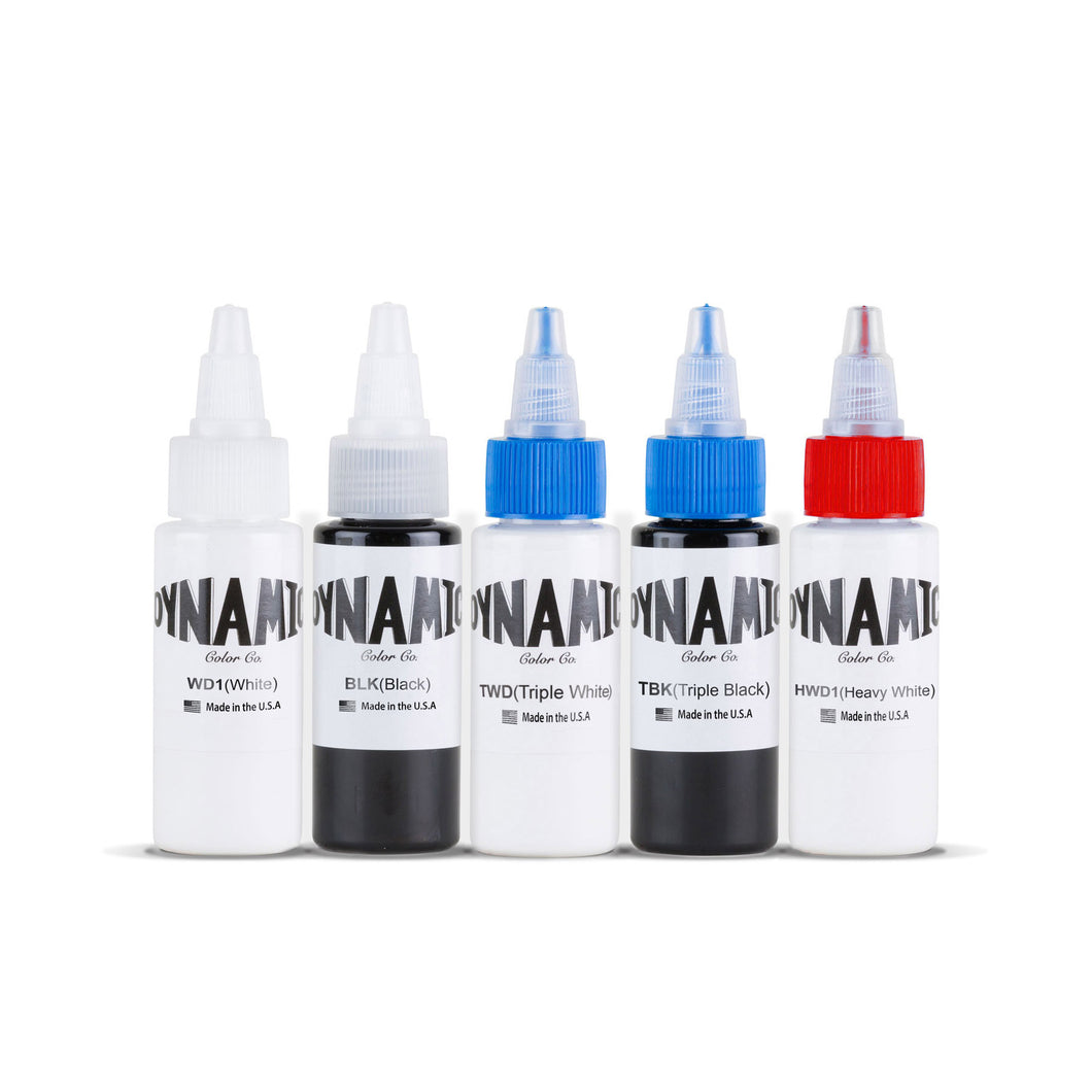Dynamic Tattoo Ink Ghosts 1oz Color Set