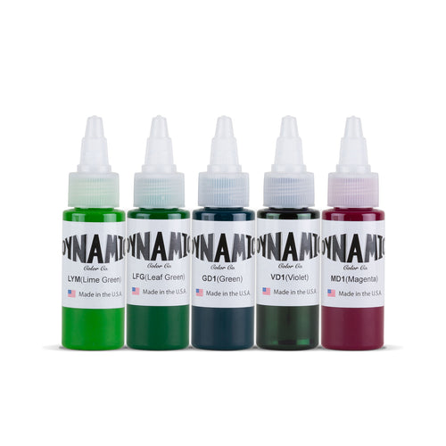 Dynamic Tattoo Ink Goblins 1oz Color Set