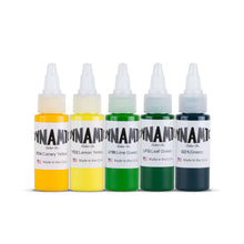 Dynamic Tattoo Ink Jungle 1oz Color Set