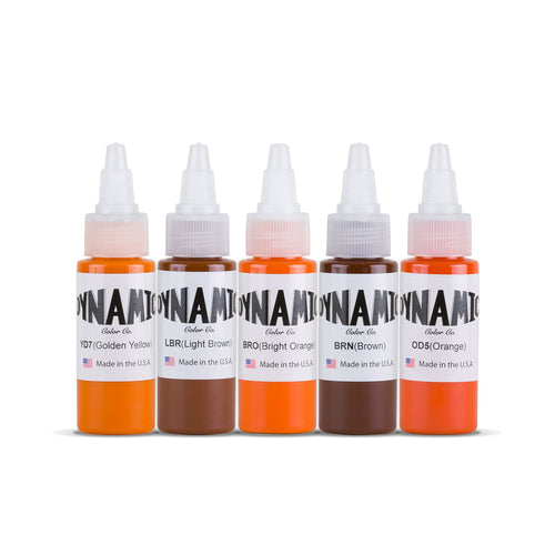 Dynamic Tattoo Ink Patina 1oz Color Set