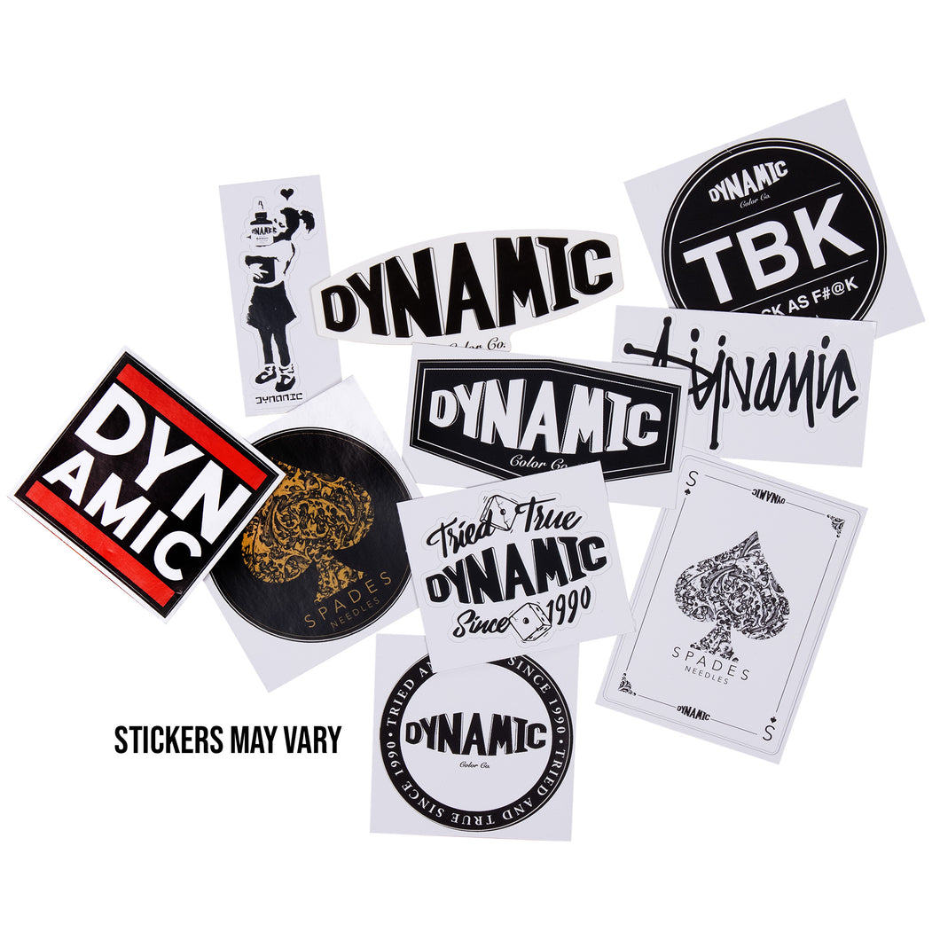 Dynamic Sticker Bomb Pack - 10 Pieces