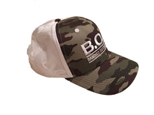 Camo Nylon Trucker Hat