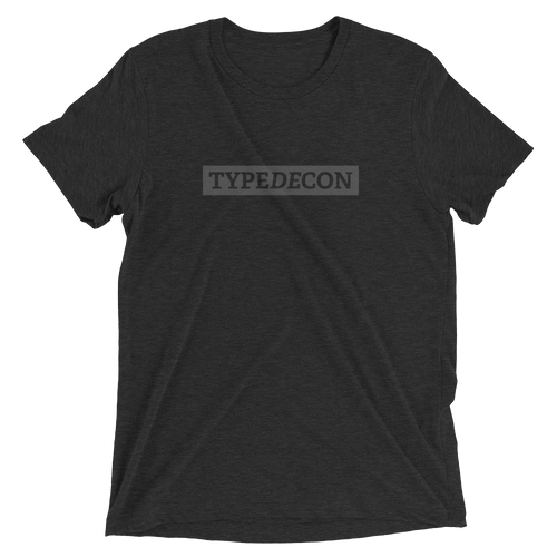 TypeDecon Shirt (Black Series)