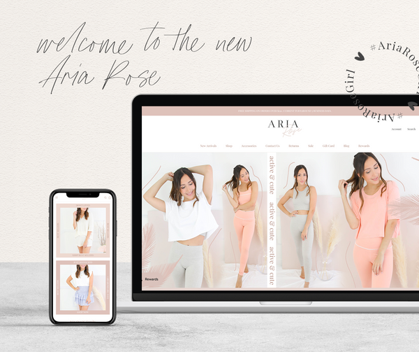 Welcome To Aria Rose 2.0