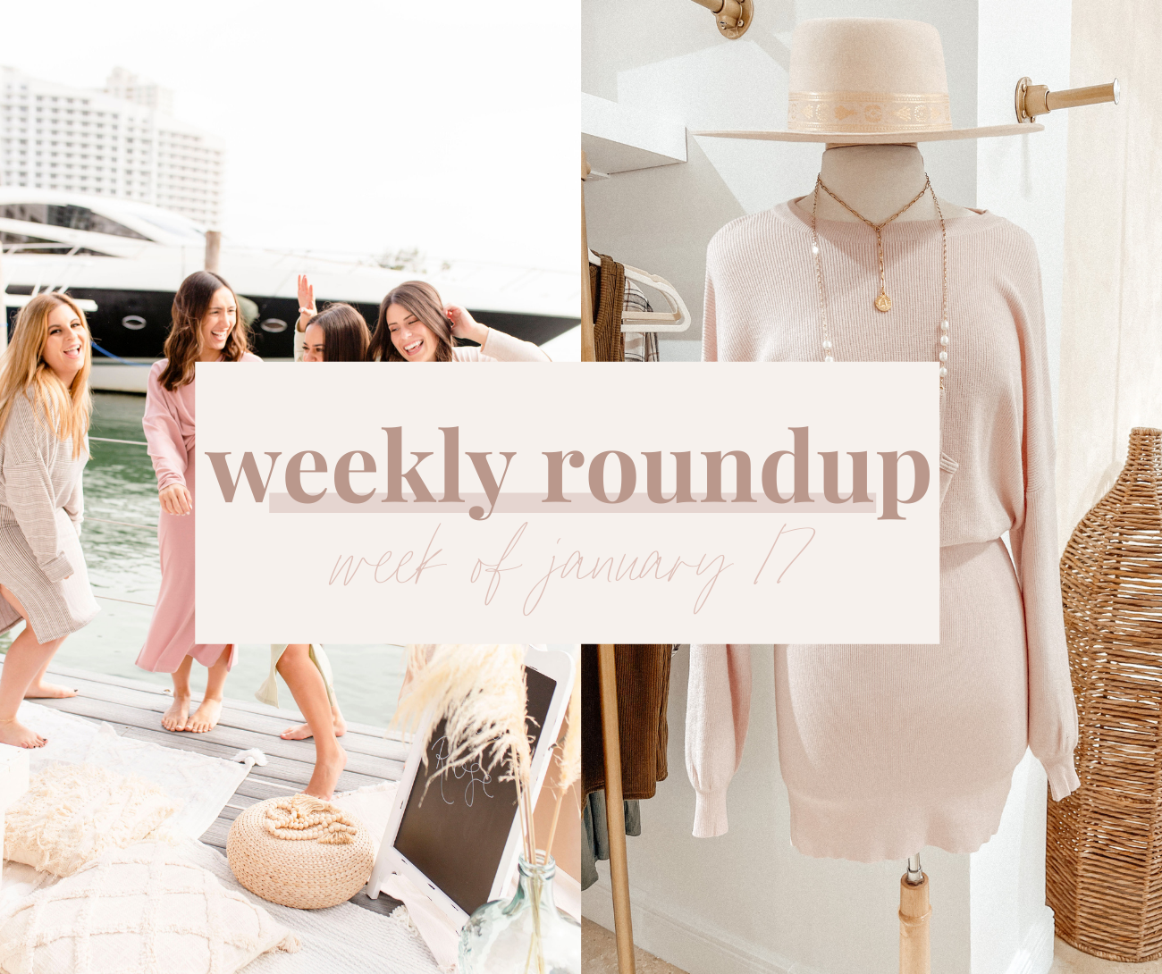 Weekly Roundup - Week of January 17