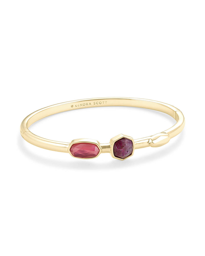 Kendra Scott Pink Davie Bangle Bracelet