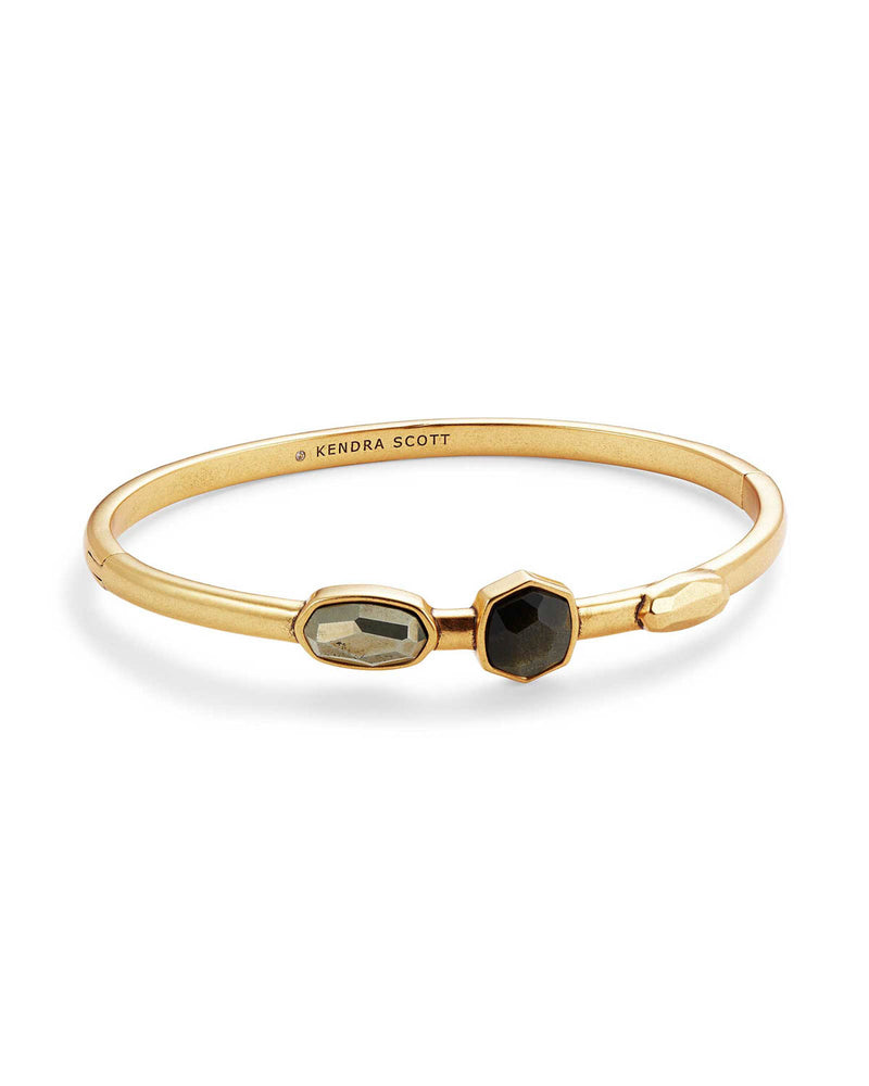 Kendra Scott Black Davie Bangle Bracelet