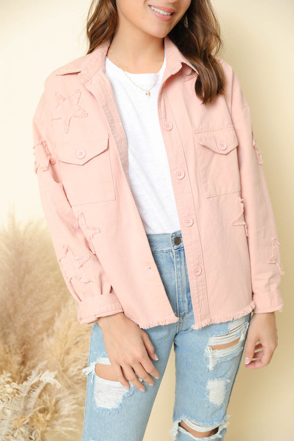 Rising Star Blush Jacket