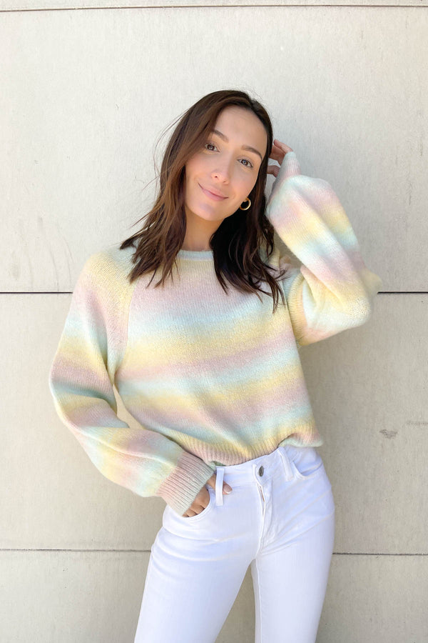 Taste The Rainbow Colorful Sweater