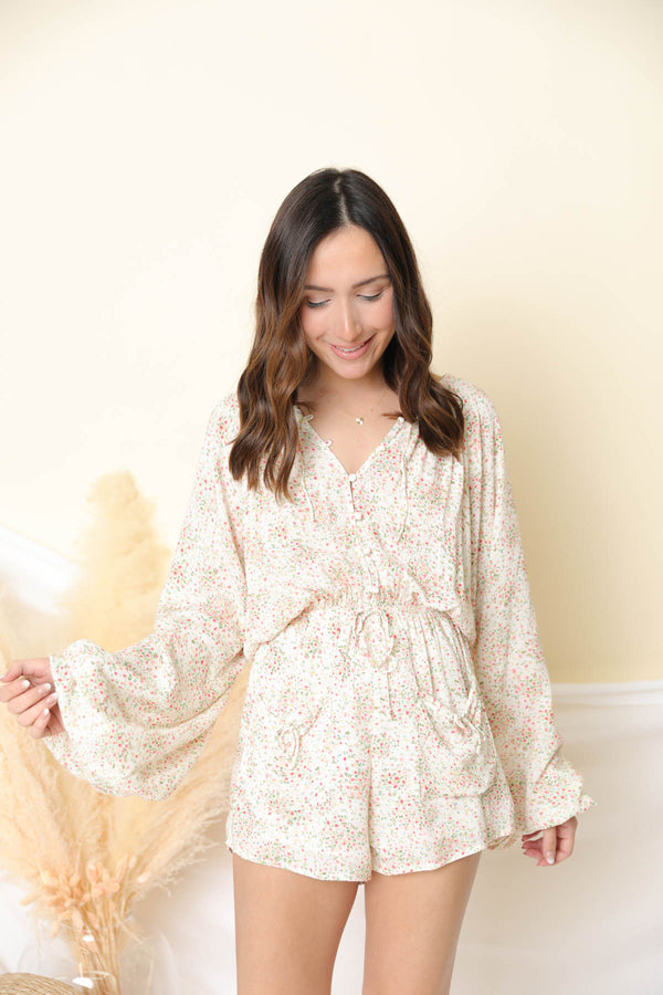 Better Days Floral Romper