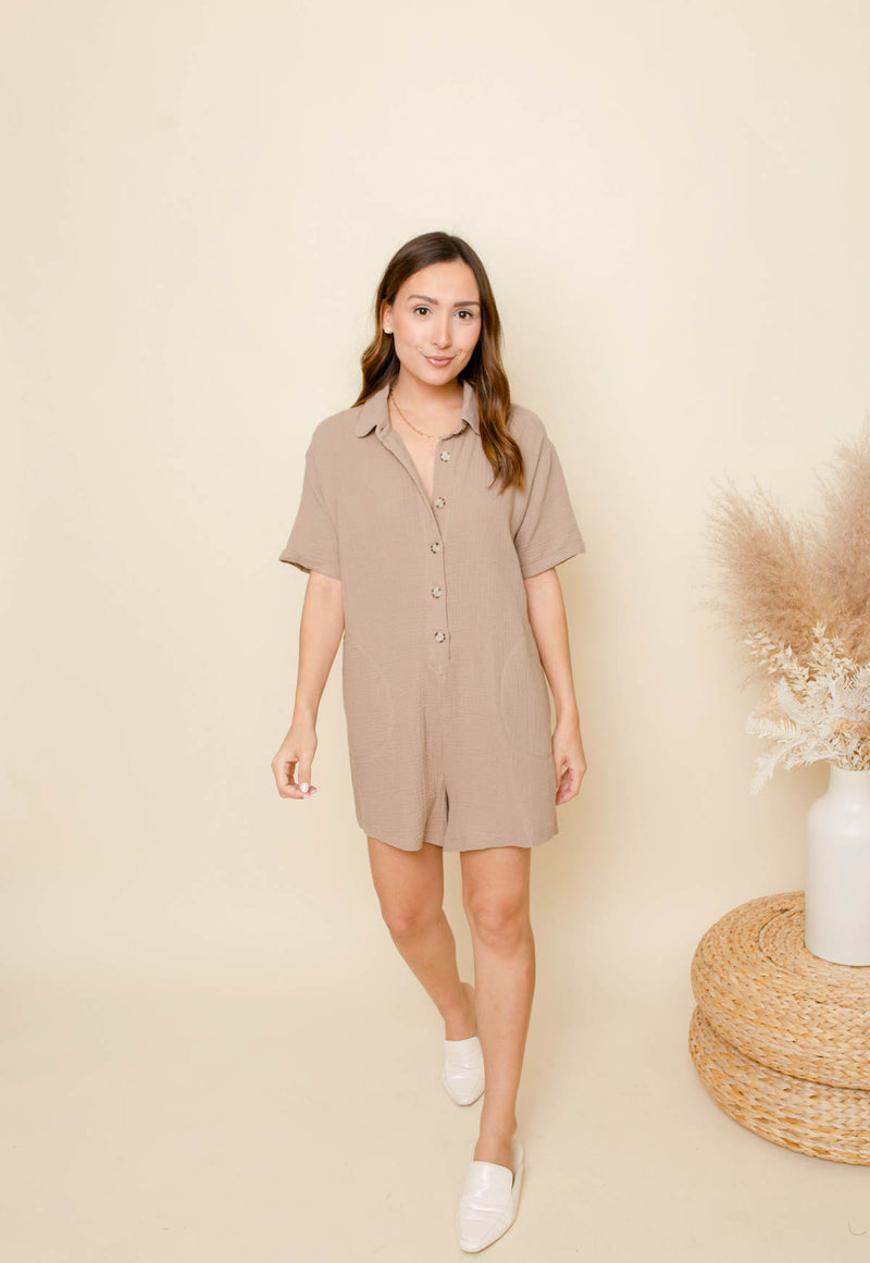 Imagine That Boxy Romper