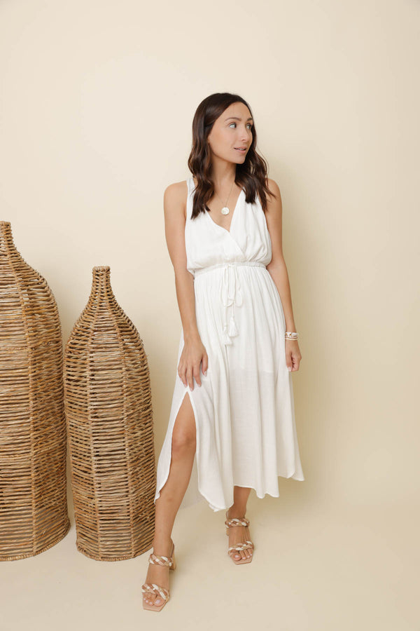 Escape to Paradise White Dress