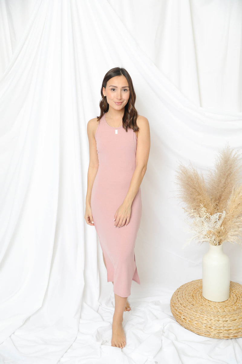 Rendezvous With Me Blush Dress