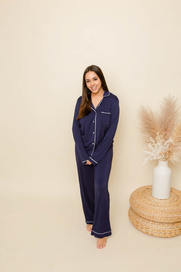 In Your Dreams Navy Pajamas