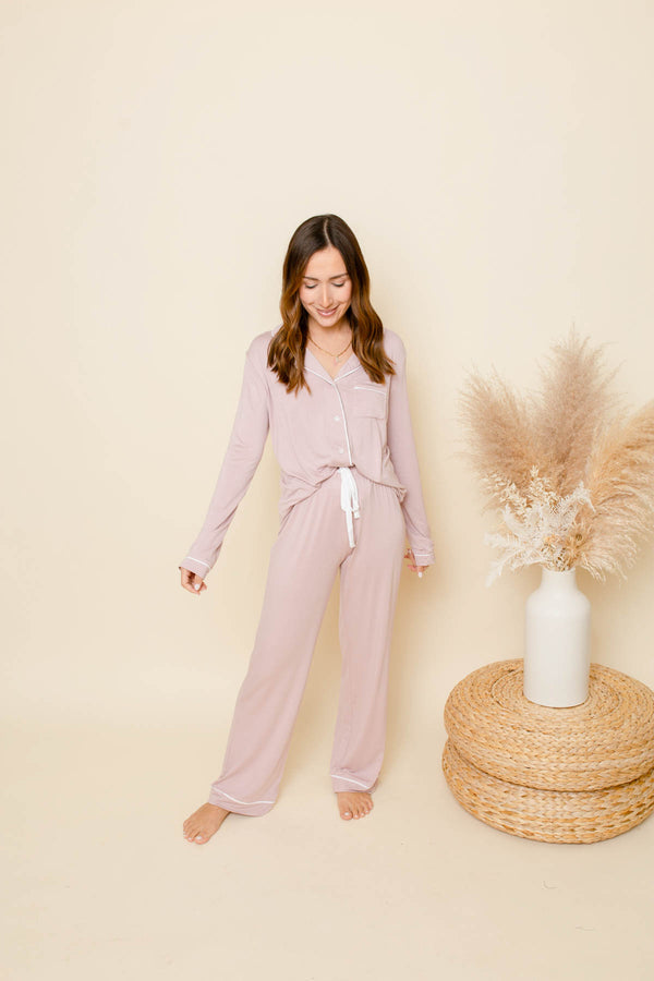 In Your Dreams Dusty Pink Pajamas