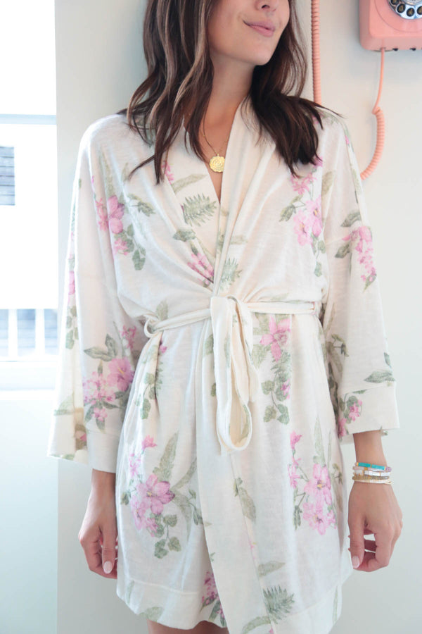 Z Supply Vacay Garden Floral Robe
