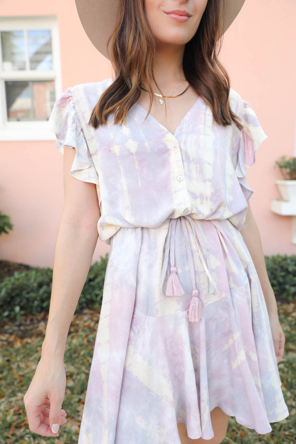 Mariposa Tie-Dye Dress