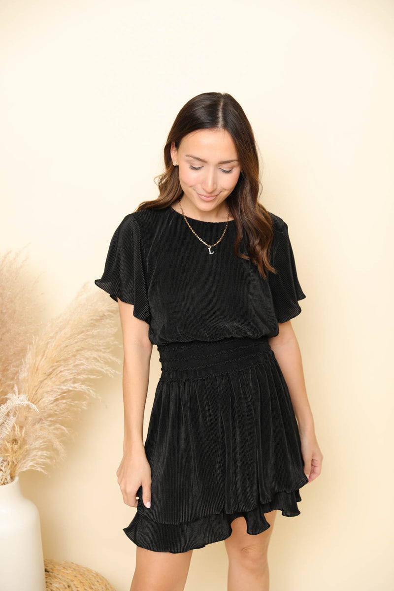 Looking For A Holidate Black Dress