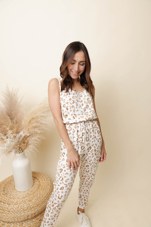 Be There Soon Printed Jumpsuit